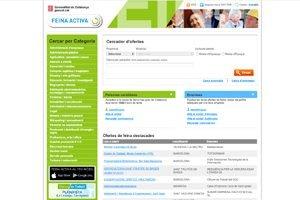 Portal de empleo público Feina Activa