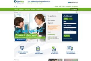 Portal de empleo público Lambide